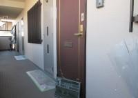 豊中市 マンション 玄関ドアシート貼