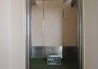 西宮市 マンション改修工事 エレベータカゴ内シート貼